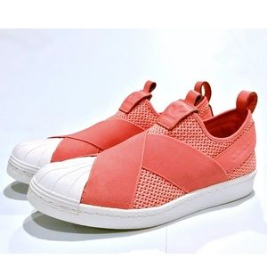 Adidas Originals Superstar Slip-on Coral Sneakers